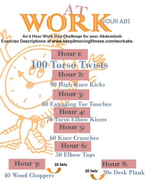 work your abs with abs exercises at work keep it moving fitness