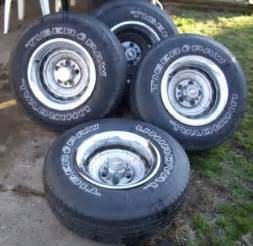 6 Lug Chevy Truck Rally Wheels For Sale Chevrolet Chevy Gmc Truck 6 Lug 15 15x8 Rally Wheel Center