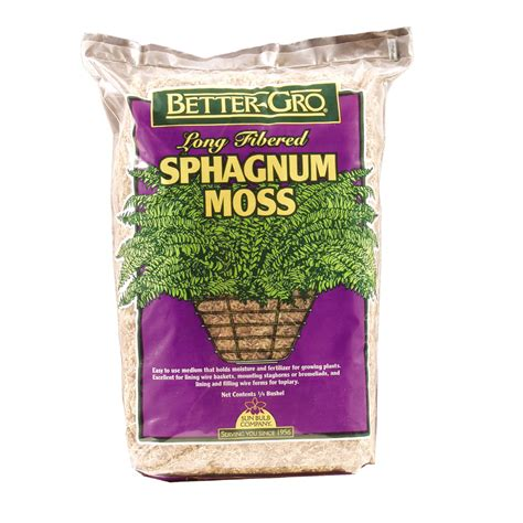 bett gro shop better gro 0 25 bushel organic orchid moss soil at