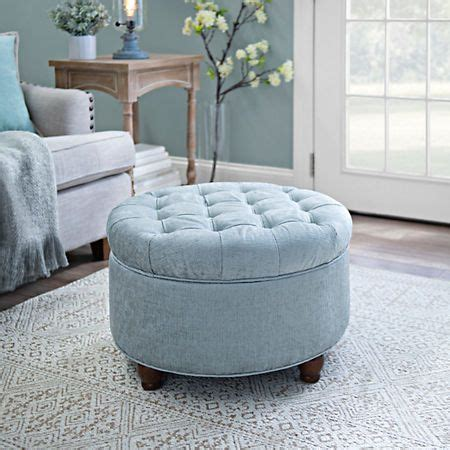 blue tufted ottoman best 20 ottoman ideas on teal sofa