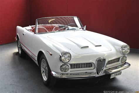 Alfa Romeo 2000 Spider by 1958 Alfa Romeo 2000 Spider Alfa Romeo Supercars Net