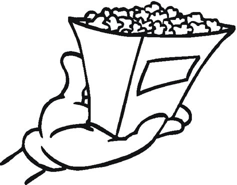 Free Snacks Coloring Pages Snack Coloring Pages