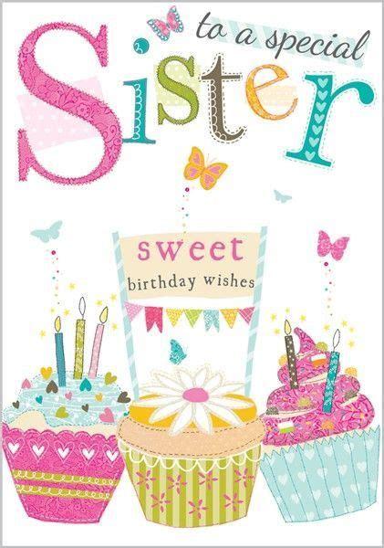 Birthday Cards Through Best 25 Happy Birthday Sister Ideas On Pinterest