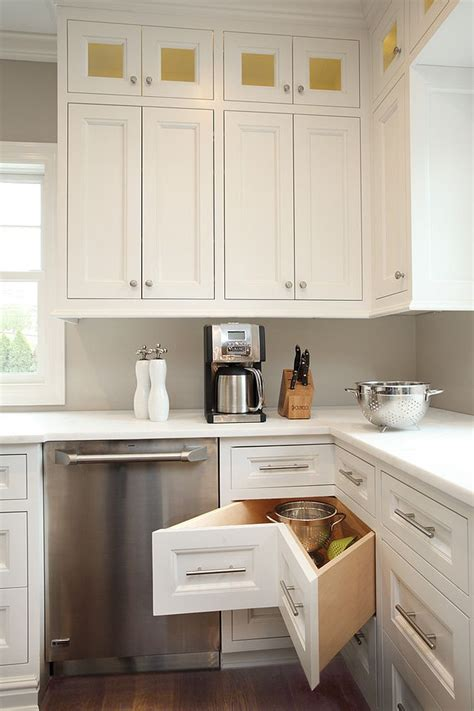 kitchen cabinet l shape smart corner drawers are a must in the l shaped kitchen