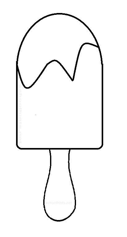 popsicle template crafts pattern חיפוש ב קיץ summer