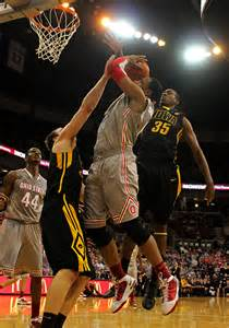 Former osu basketball player jared sullinger center plays in a game