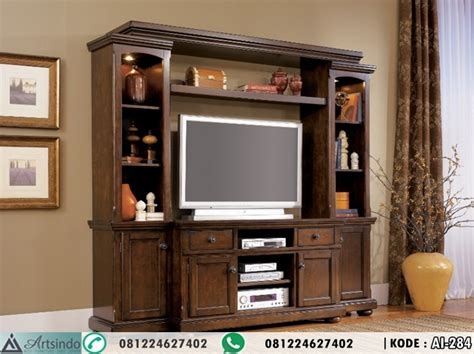 Partisi Ruangan Minimalis Lemari Pajangan Duco Bufet Tv Minimalis lemari hias minimalis klasik elegan ai 284 arts indo
