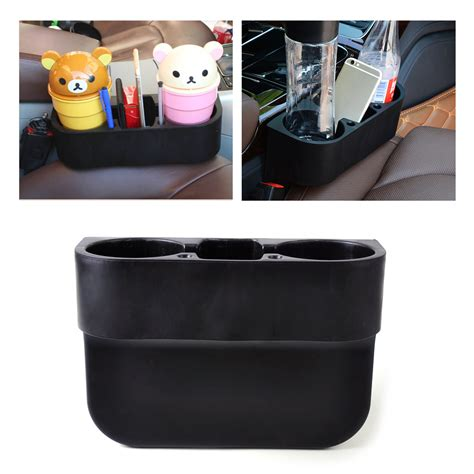 car seat wedge cup holder universal black car seat seam wedge cup drink holder