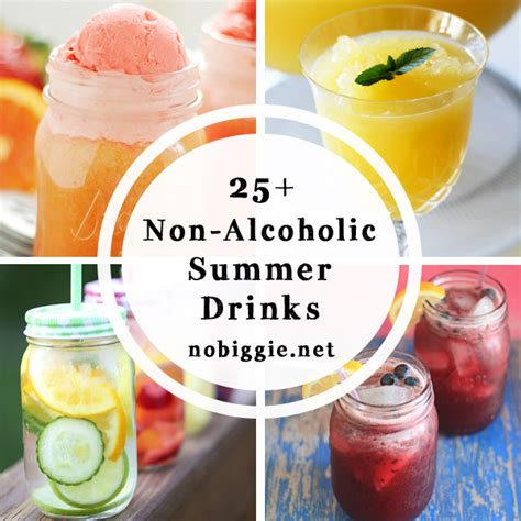 summer cocktail recipes non alcoholic summer cocktails