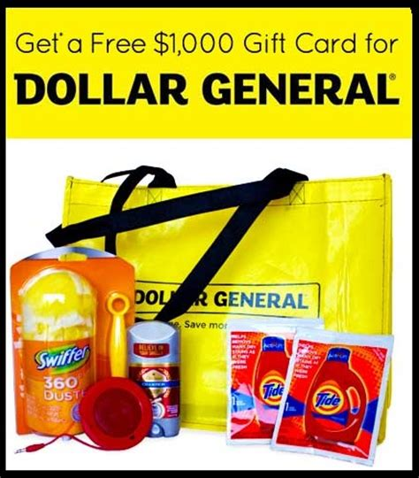 1000 Dollar Gift Card - free dollar general 1000 gift card free stuff give away