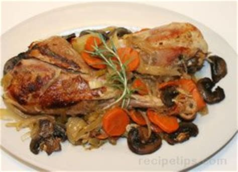 cooker recipes for turkey legs cooker turkey legs with vegetables recipe