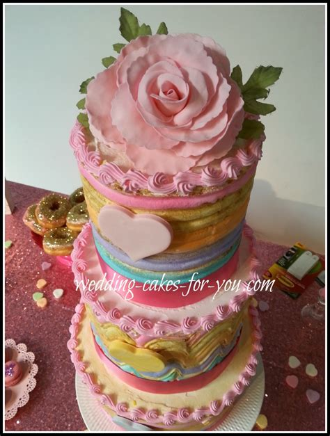 Shaped Wedding Cakes by Shaped Wedding Cakes And Cakes