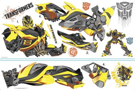 transformers wall stickers transformers bumblebee wall decal