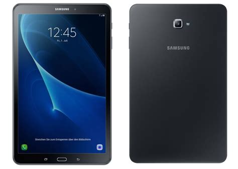 Tablet Samsung Second new samsung galaxy tab a 10 1 tablet gets official geeky