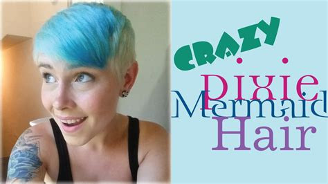 what kind of hair is used for pixie braid how to s crazy pixie mermaid hair youtube