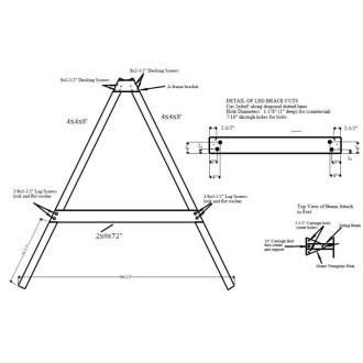 Free Pdf Plans For Diy Swing Sets Outdoor Projects