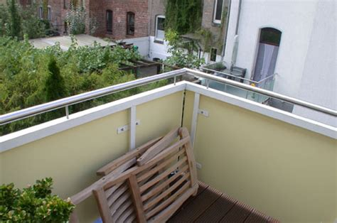 edelstahlgeländer balkon handlauf f 252 r balkon aus edelstahl edelstahlgel 228 nder