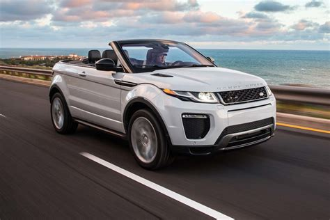 range rover evoque 2017 range rover evoque convertible first test motor trend