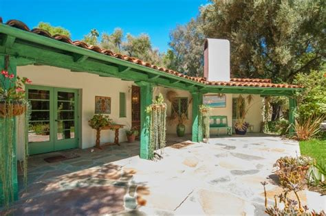 large spanish style ranch home stock image image 24083641 annie potts puts colorful spanish style ranch on market