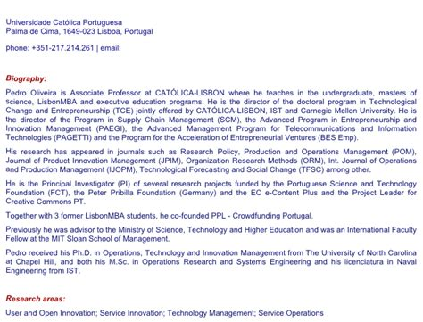 Mba Emailing A Professor About Auditing A Class by Pedro Oliveira Associate Professor Phd Unc Chapel Hill
