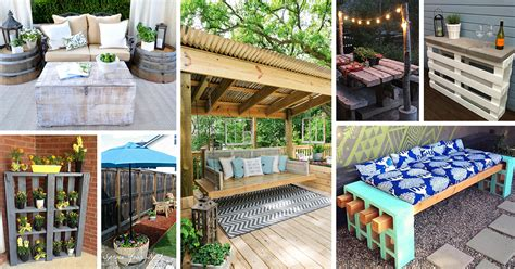 Patio Decorating Ideas by 25 Best Diy Patio Decoration Ideas And Designs For 2017