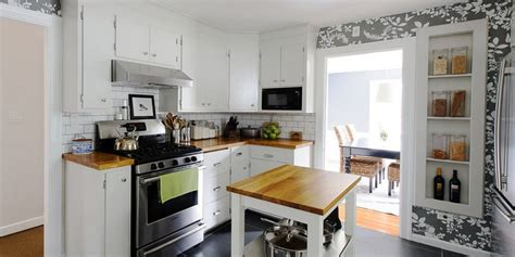 kitchen cabinets update ideas on a budget 19 inexpensive ways to fix up your kitchen photos huffpost