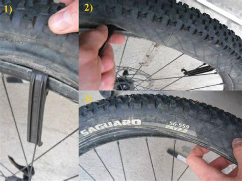 changer une chambre à air vtt tuto changer un pneu ou une chambre 224 air d un vtt