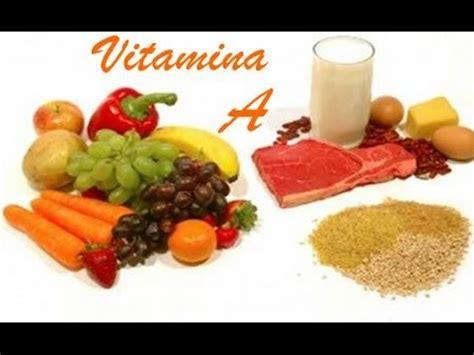 alimentos con vit a que alimentos contienen vitamina a