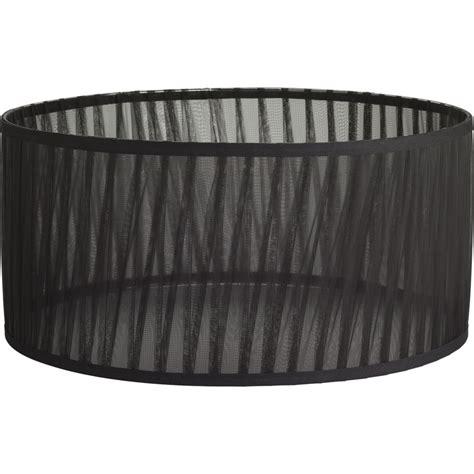 18 Drum L Shade by Shop Progress Lighting 8 625 In X 18 In Black Chiffon