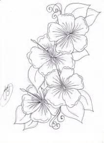 flower tattoo drawings hummingbird hibiscus tattoo drawing the hibiscus flowers