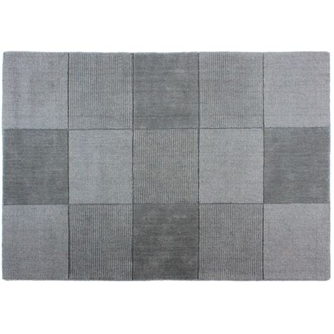 Modern Square Rug Simple Contemporary Square Design Carpet Rug 100 Wool Ebay
