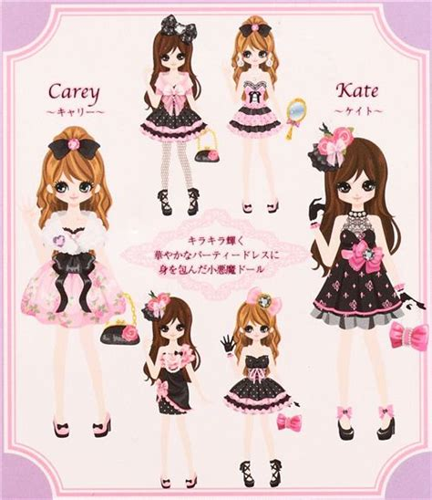 black doll dress up black kawaii dress up doll sponge stickers
