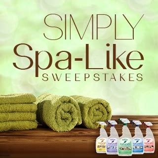 Spa Sweepstakes - simply spa like sweepstakes