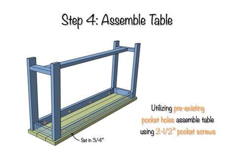 X Brace Console Table X Brace Console Table Diy X Brace Console Table Free Plans Rogue Engineer Diy X Brace Console