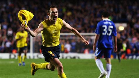 chelsea goal co id andres iniesta goal against chelsea in 2008 09 chions