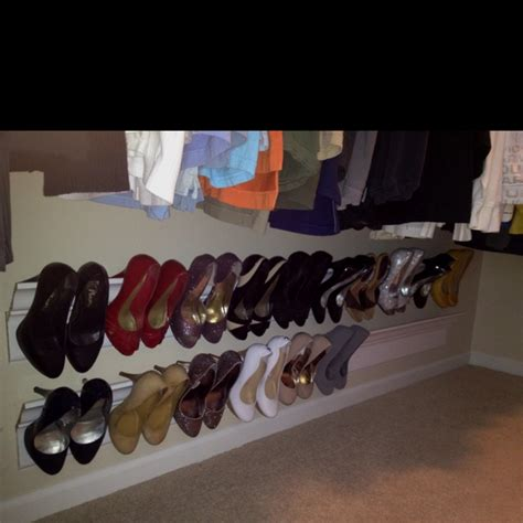Crown Moulding Shoe Rack by Shoe Rack Made Out Of Crown Molding This
