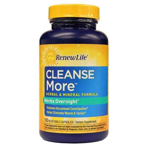 Renew Detox Products by Renew Cleansemore 100 Vegetable Capsules