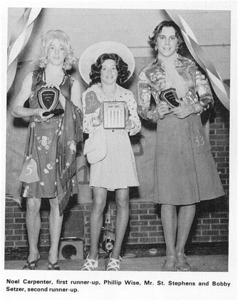 hickory nc  womanless beauty pageant womanless