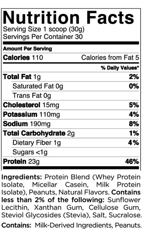 d protein powder nutrition quest nutrition protein powder nutritional information
