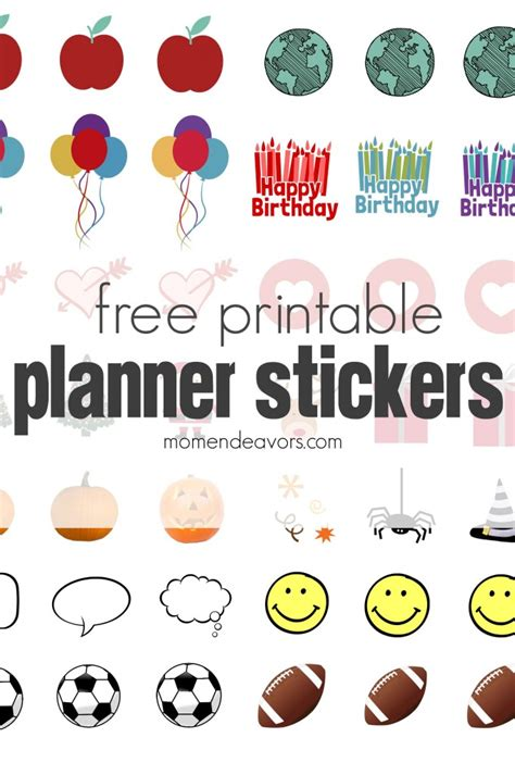 how to use printable planner stickers diy planner stickers free printable