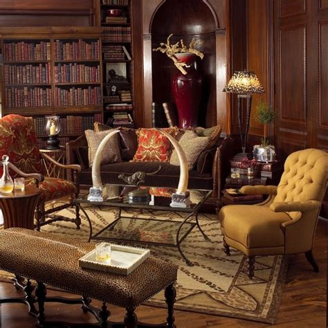 Study Interior Design In South Africa by Colonial Style Library When At Home