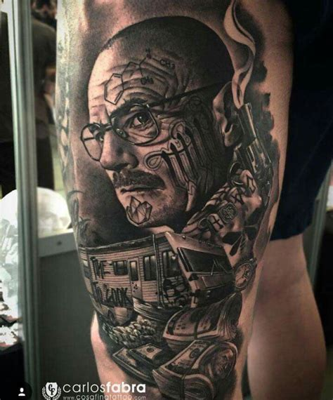 mr heisenberg tattoo if ve got you under my skin ink