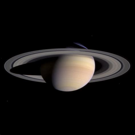 what color is saturn s rings the cassini and huygens mission to saturn and titan