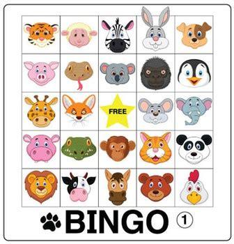 esl games animal bingo by donald s english classroom