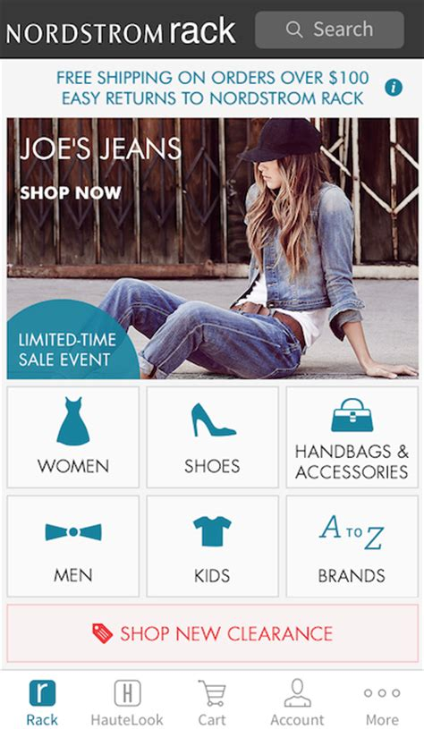 Nordstrom Rack Mobile by Nordstrom Creates Separate Digital Shopping Channels For