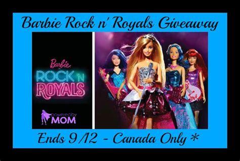 Royals Giveaways - barbie rock n royals giveaway powered by mom