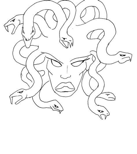 doodle how to make medusa easy medusa drawings