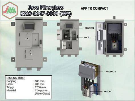 Panel Listrik Outdoor box panel outdoor fiberglass frp 004 java fiberglass