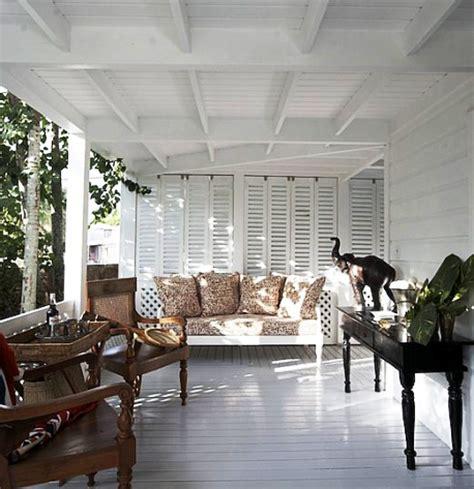 veranda india folk at home at home with india hicks and david