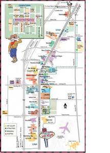 Map To Las Vegas by Las Vegas Strip Distance Map Places To Go Pinterest
